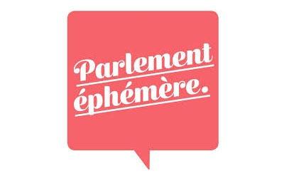 Logo Parlement éphémère