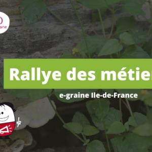 A la découverte des métiers de la transition avec e-graine Ile-de-France