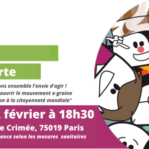 Rendez vous le 2 février pour une soirée découverte avec e-graine Île-de-France !