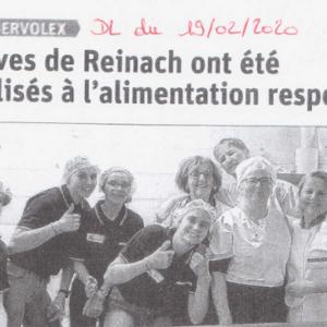 e-graine Auvergne-Rhône-Alpes sensibilise les élèves de Reinach à l'alimentation responsable