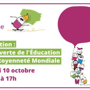 e-graine Île-de-France vous propose une Formation «Découverte de l'Éducation à la Citoyenneté Mondiale» le 10 octobre