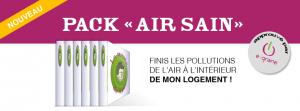 Pack «pour un air sain»