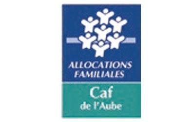 Logo CAF de l'Aube