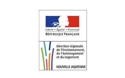 Logo Direction régionale de l'environnement, de l'aménagement et du logement Nouvelle-Aquitaine