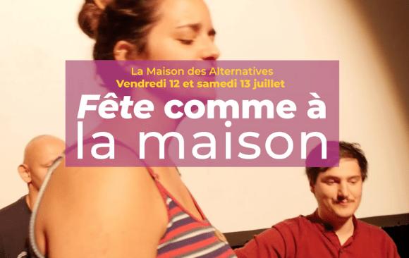 Fête Comme à La Maison 2019 :  un week end convivial !