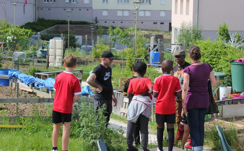 Les jardins pédagogiques : un espace clé