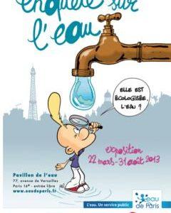 Exposition «ENQUÊTE pédagogique SUR L'EAU»